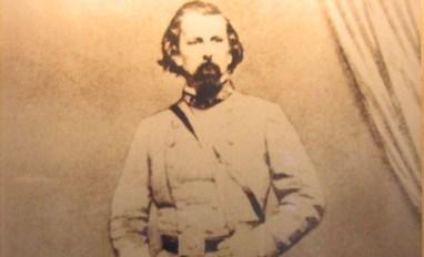 Photo taken from the Lloyd Tilghman portrait in the Lloyd Tilghman House & Civil War Museum