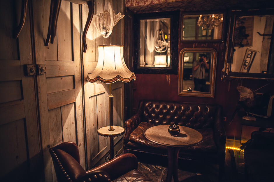 A secret room in a paris restaurant