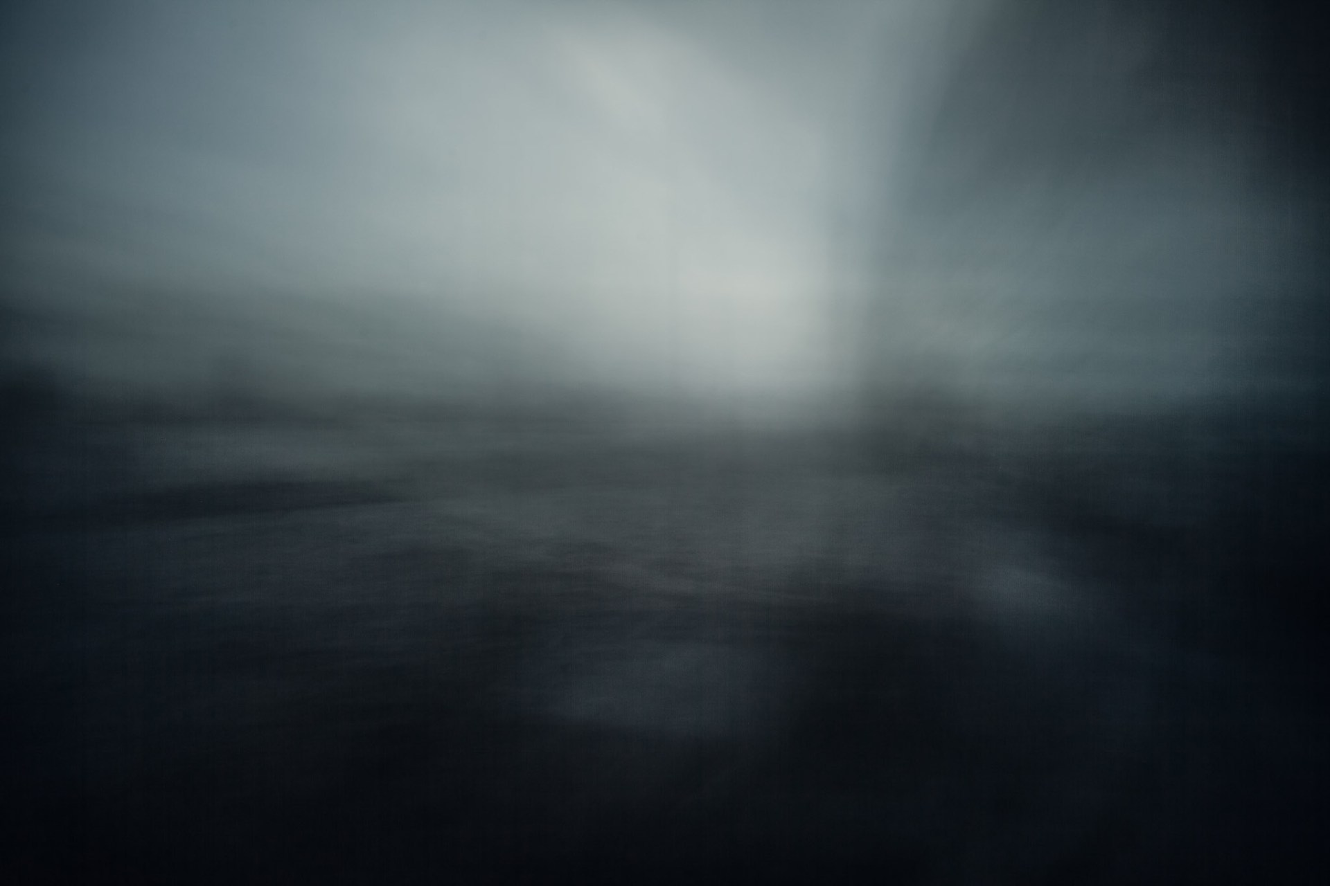 A blurred image of the Ij river in Amsterdam