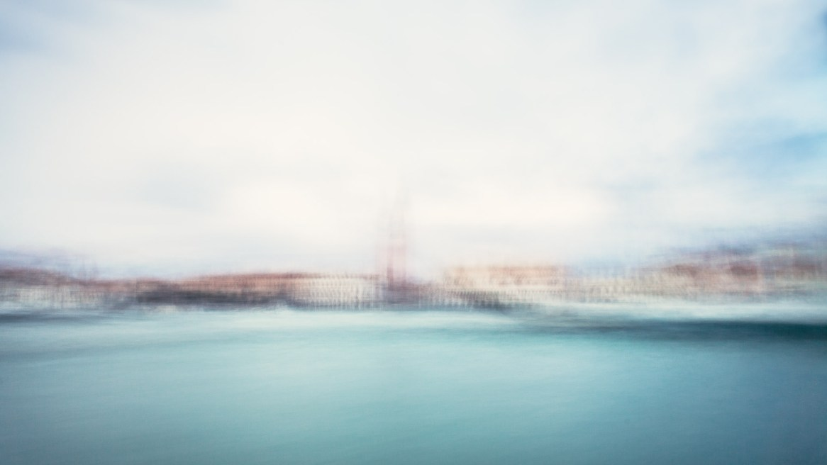 San marco in venice, blurred