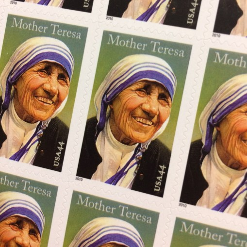 Mother Teresa stamps 2