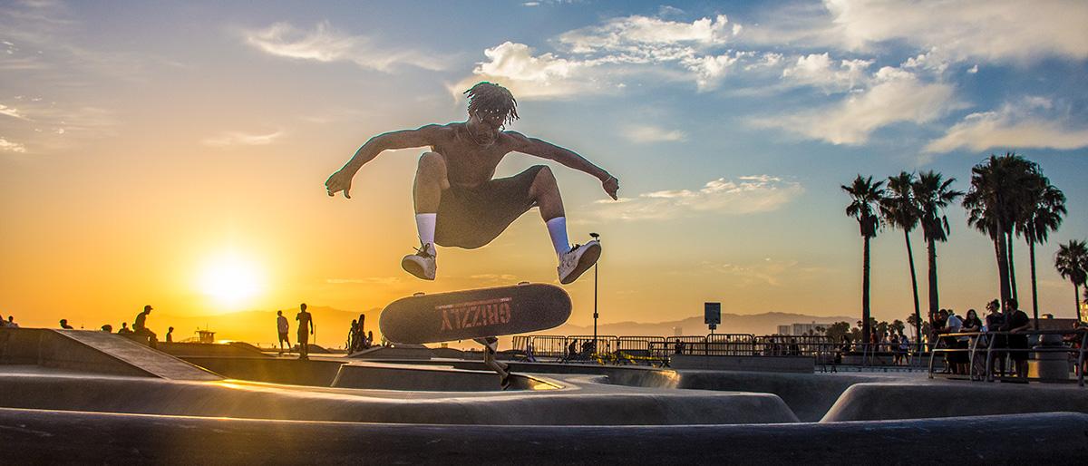 Venice Beach Skateboarding - John Chandler Media