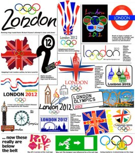 Logos of The 2012 London Olympics