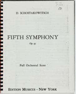 Score 5th Symphony