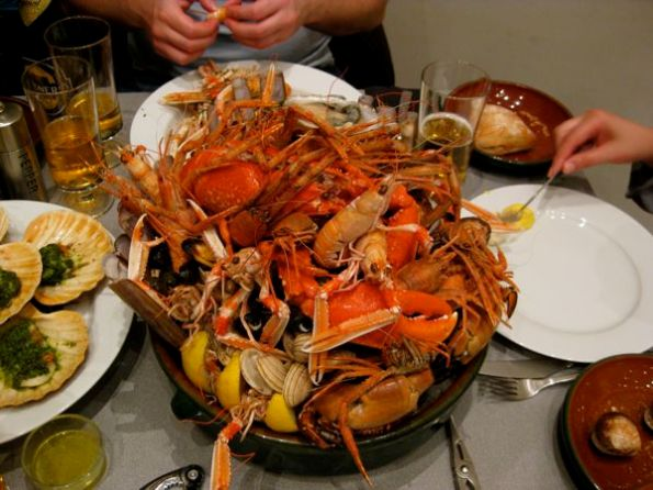Enormous Seafood Platter