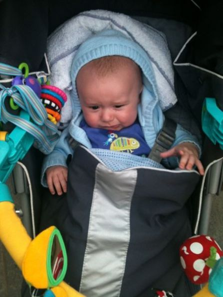 Callum Looks Grumpy!