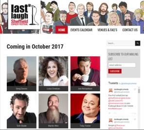 Sheffield comedy festival website