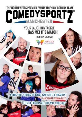 comedysportz poster design