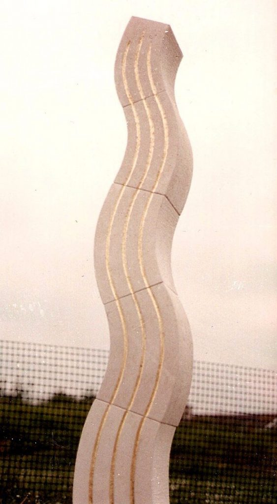 Stone Totem Sculpture