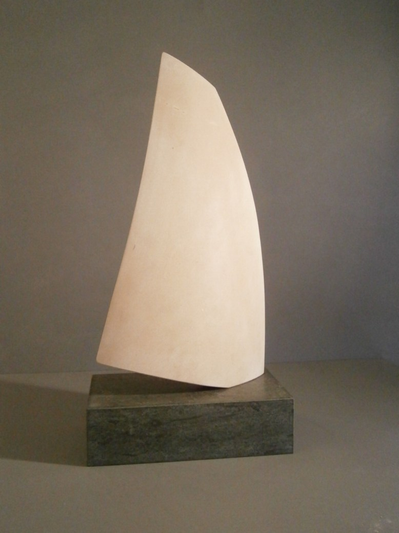Sail Sculpture in Stone