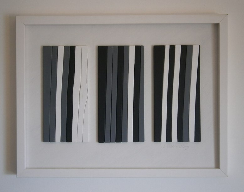 Abstract Relief Painting