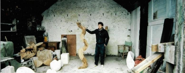 Sculptor John Davey,s Workshop
