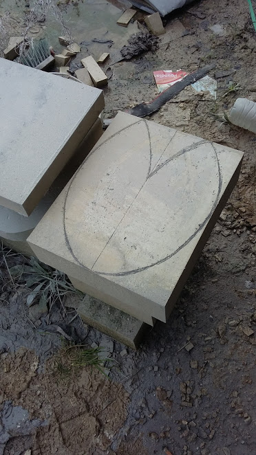 Making of a Stone Abstract Sculpture
