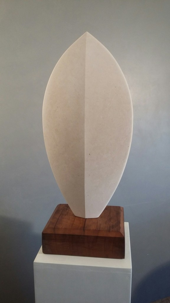 Stone sculpture of Shield