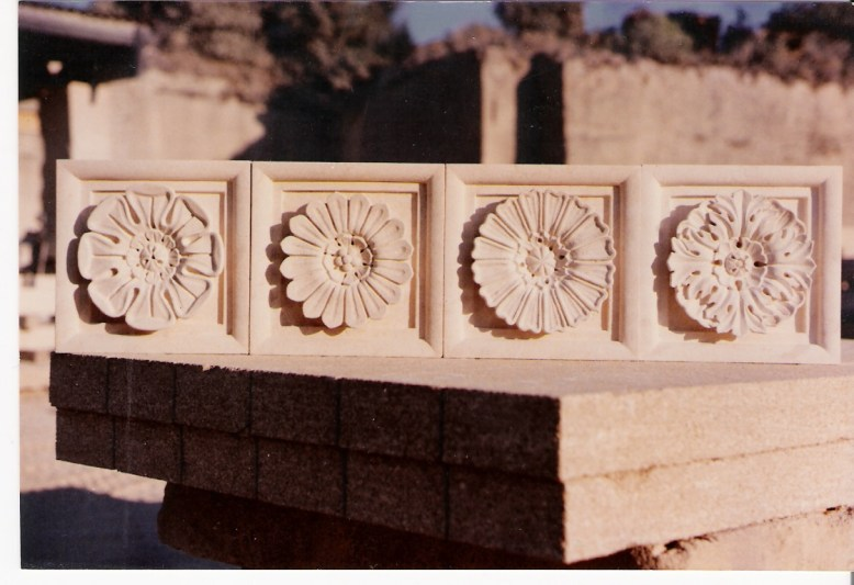 Flower Relief Carvings