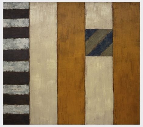 Sean Scully, one of John Davey's favourite painters