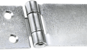 150mm BRIGHT ZINC PLATED SAFETY HASP & STAPLE