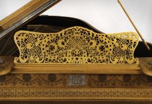 Schastey Piano Case Detail (photo courtesy of Metropolitan Museum of Art