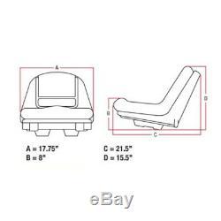 Gy20496 Seat For John Deere Lawn Mower G110 L100 L105 L110