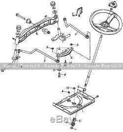 John Deere Tractor Steering Kit D100 D105 D110 D120 D125