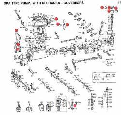 Overhaul Diesel Injection Pump Rebuild Kit Delphi Tractor