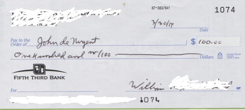 How to write a check for 100 howsto donations log john de nugent ccuart Image collections