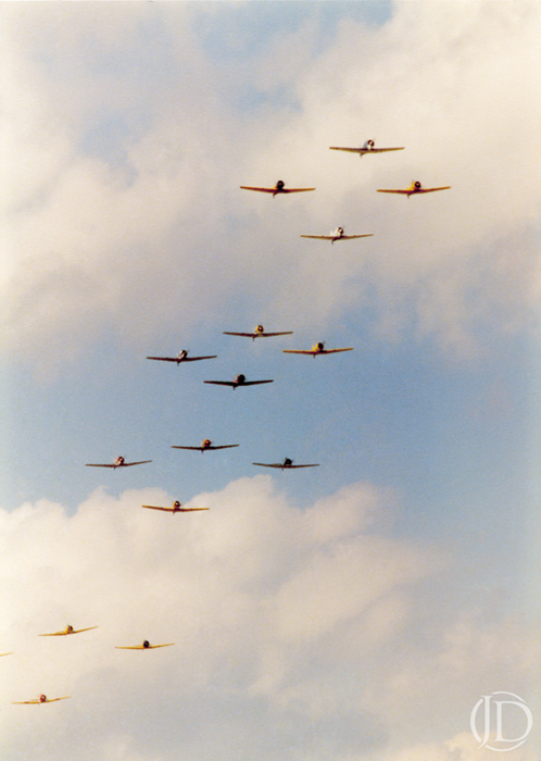 Air Show - $1200 - 11x17 Kodachrome Color C Print in 18x24 frame - Edition of 10