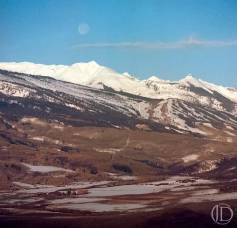 Moon - $1100 - 12x12 Kodak Film Color C Print in 18x18 frame - Edition of 10
