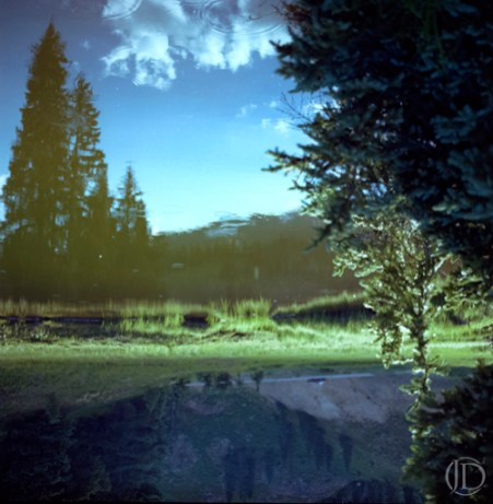 Reflection - $1100 - 12x12 Kodak Film Color C Print in 18x18 frame - Edition of 10