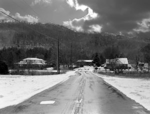 1-2003 Collbran Gap going up Lookout Mountain-Collban Alabama-Pentax 6x7 camera-55mm lens-Ilford HP5+ 120 film-Kodak Xtol developer.