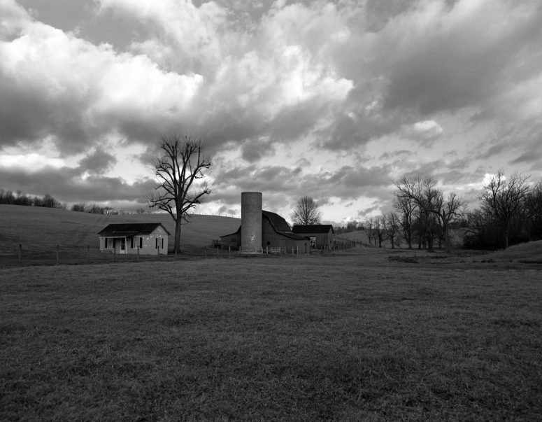 1-12-2-14 Near Bristol Virginia-Pentax 6x7-45mm lens-Ilford Delta 100 120 film-K2 filter-PMK Pyro developer.