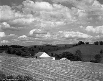6-2-1983 Near Lexington Virginia-Linhof Technika V 4x5 camera-150mm Schneider Symmar S lens-G filter-Ilford FP4 4x5 film-Kodak HC110B developer.