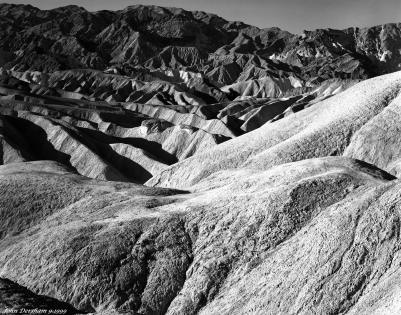 9-26-1999 Death Valley-Linhof Technika V 4x5 camera-210mm Schneider Apo Symmar lens -K2 filter-Ilford HP5+ 4x5 film-PMK Pyro developer.