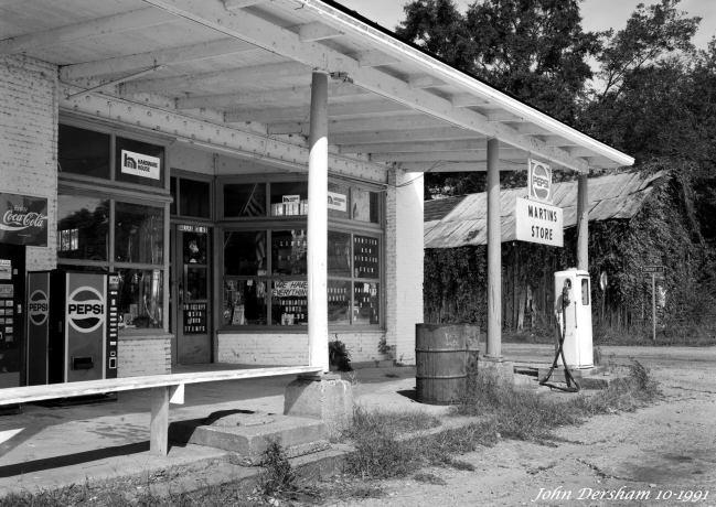 10-6-1991 Plantersville Alabama-Linhof Technika 4x5 camera -120mm Schneider Super Symmar HM lens- Kodak T-max 100 4x5 film-Kodak Tmax RS developer.