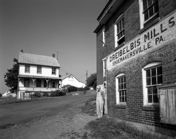 7-1983 Mr Dreibelbis, Shoemakersville Pennsylvania-His family farm since 1790-Linhof Technika 4x5-90mm Schneider Super Angulon- Yellow G filter-Kodak Tri X Professional 4x5 film-Kodak HC110 developer.