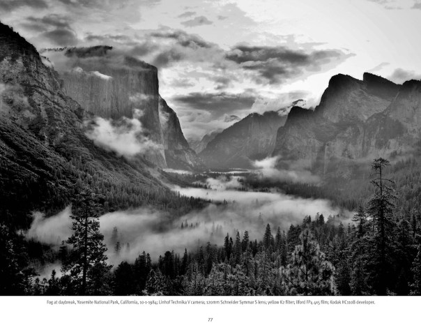 Changing Moods - Sixty Years in Black and White by John Alexander Dersham - Fog at Daybreak, Yosemite National Park