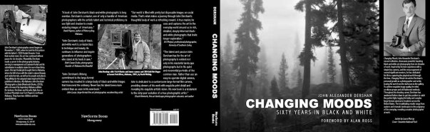 Changing Moods - Sixty Years in Black and White by John Alexander Dersham - Book Jacket