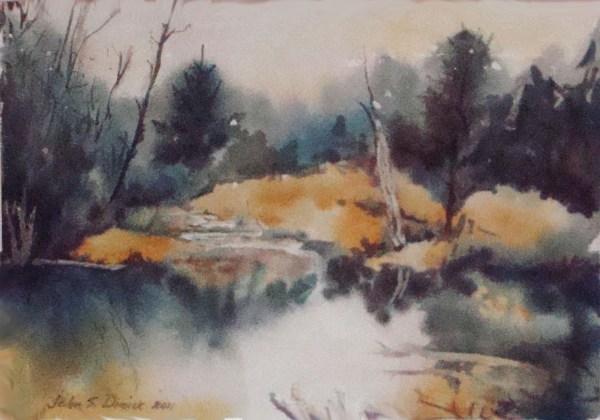 Watercolor Paintings John . Dimick