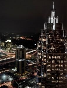 Embracing Tomorrow, Atlanta Cityscape, by John Dowell Artist Photographer