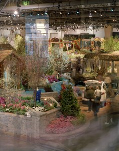 Convention Center Flower Show, Philadelphia Cityscapes, by John Dowell artist photographer