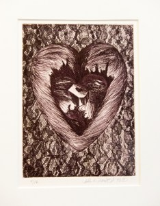 Untitled, Etching, by John Dowell Artist Photographer