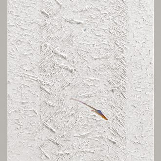 Solar Shaft, White Paintings, by John Dowell Artist Photographer