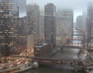 Rush Hour, Chicago Cityscapes, by John Dowell artist photographer