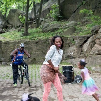 The Dancer, Harlem Drum Circle, by John Dowell artist photographer