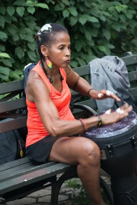 Intensity, Harlem Drum Circle, by John Dowell artist photographer