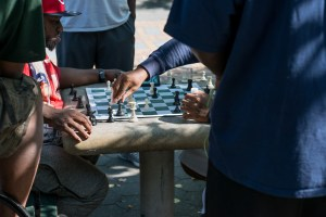 Inside the Game, Harlem Chess, by John Dowell artist photographer