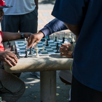 Inside the Game, Harlem Chess, by John Dowell artist photographer