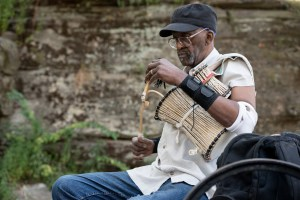 Talking Drum, Harlem Drum Circle, by John Dowell artist photographer