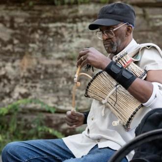 Talking Drum, Harlem Drum Circle, by John Dowell artist photographer