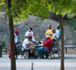 The Game, Harlem Chess, by John Dowell artist photographer
